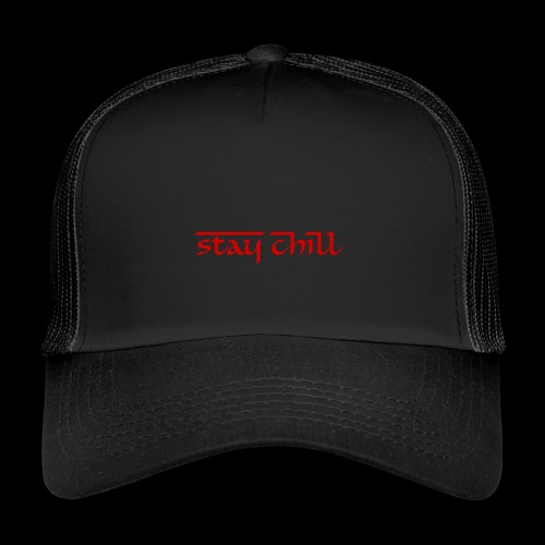 Stay Chill Demon Edition - Gorra de camionero