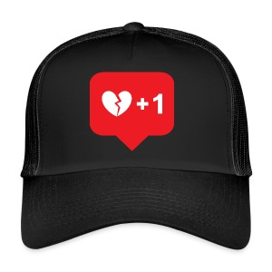 Broken Heart + 1 - Trucker Cap