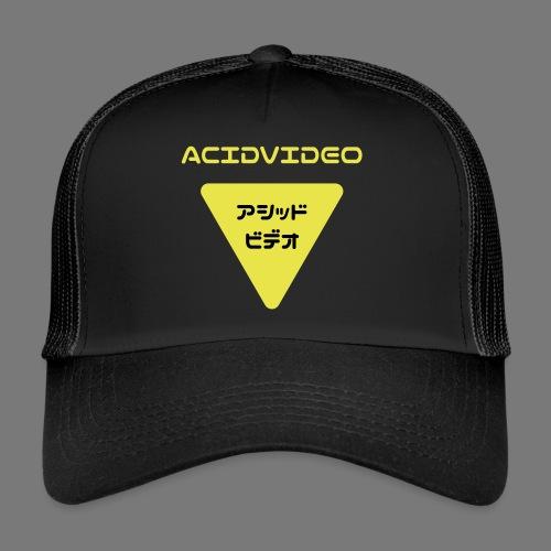 Acidvideo logo - Trucker Cap