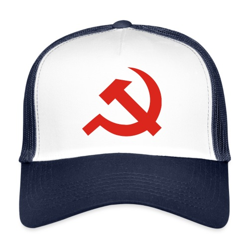 red Hammer and Sickle - Trucker Cap
