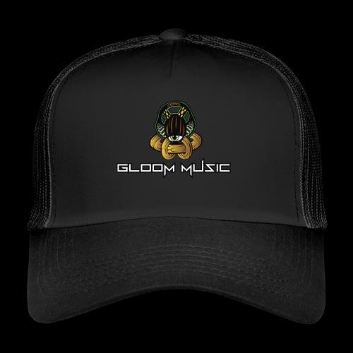 GLOOM MUSIC LOGO COLOR - Trucker Cap
