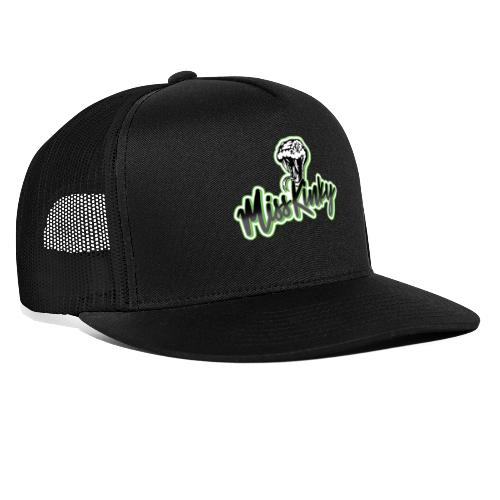 Logo Miss Kinky vert - Trucker Cap