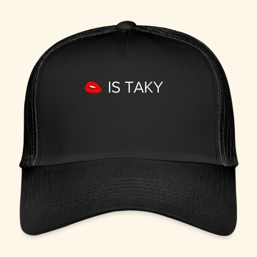 Is Taky White - Trucker Cap