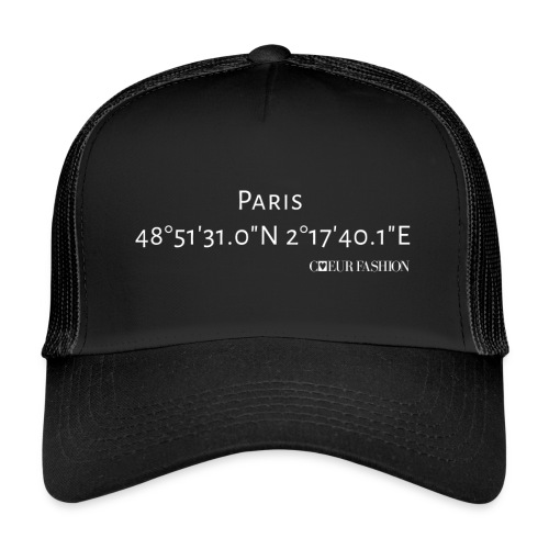Koordinaten Caps Paris - Trucker Cap