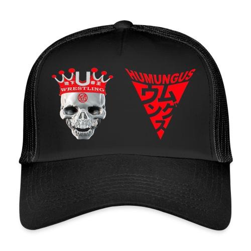 skull krone humungus3 png - Trucker Cap