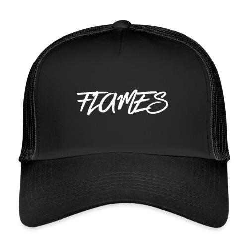 Swag Flames Logo - Trucker Cap