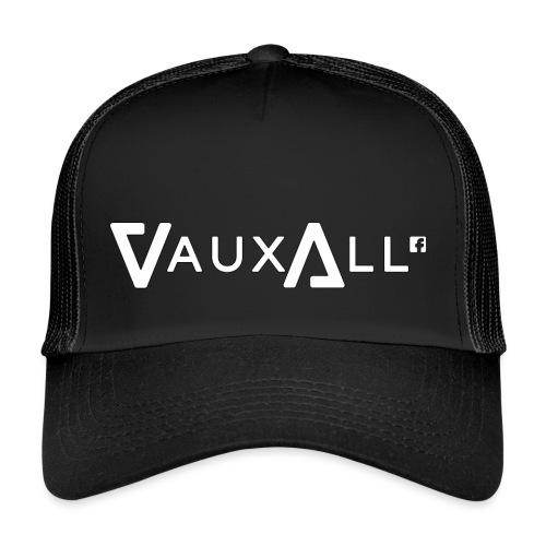 VauxAll Logo | White | Original - Trucker Cap