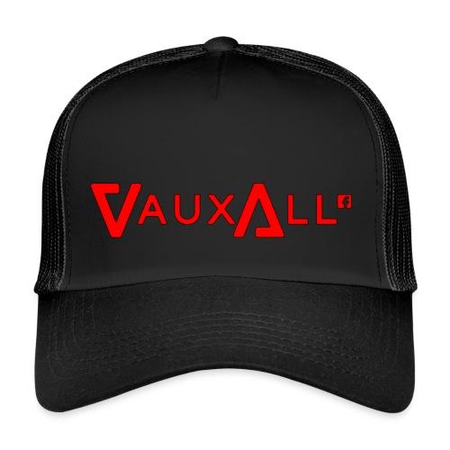 VauxAll Logo | Red | Original - Trucker Cap