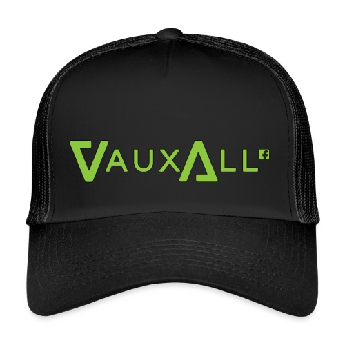 VauxAll Logo | Green | Original - Trucker Cap