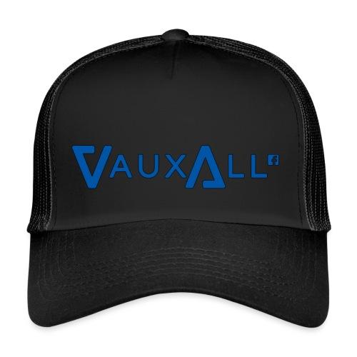 VauxAll Logo | Blue | Original - Trucker Cap