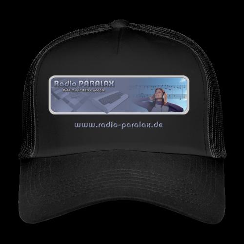Radio PARALAX Classic-Logo mit Webadresse - Trucker Cap