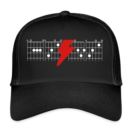 Rock Guitar Shirt - Trucker Cap