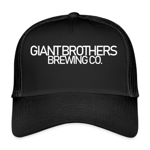 Giant Brothers Brewing co white - Trucker Cap