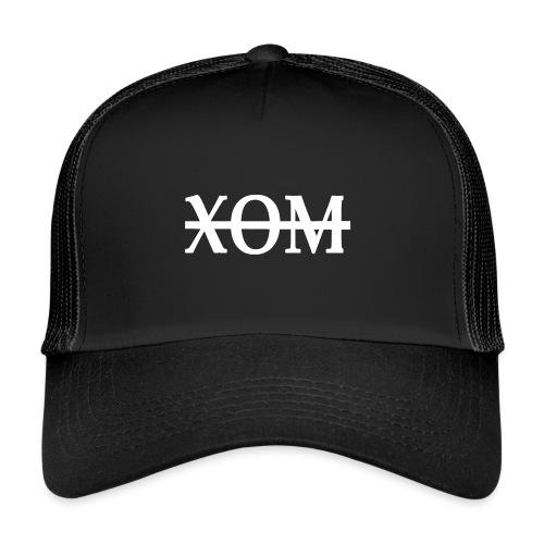 xom white png - Trucker Cap