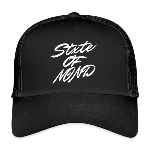 white stxteofmind png - Trucker Cap