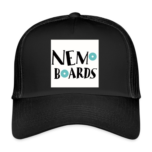 Nemo Boards Logo simple - Trucker Cap