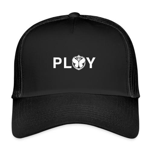 Play Logo White - Trucker Cap
