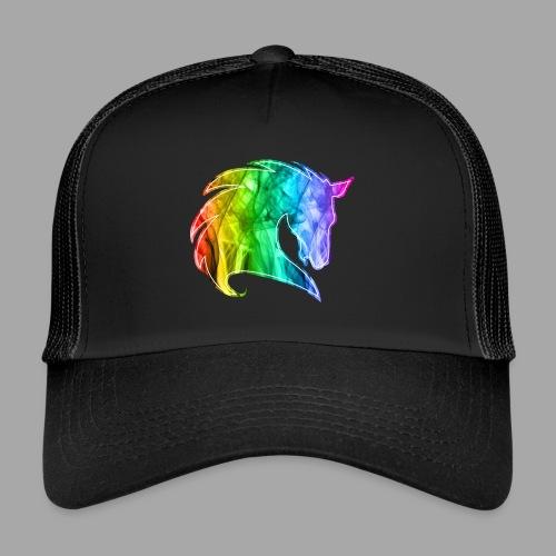 Rainbow Horse - Trucker Cap