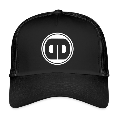 DDz Badge Logo V2 White - Trucker Cap