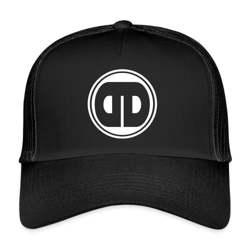 DDz Badge Logo V2 White - Trucker Cap