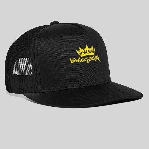 Königstochter m. Krone über der stylischen Schrift - Trucker Cap