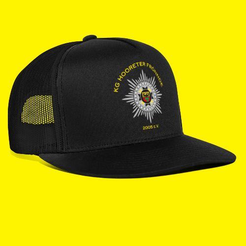 Gelbe Schrift - Trucker Cap
