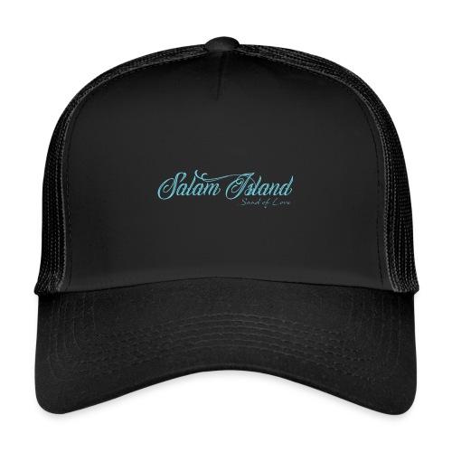 Salam Island calli bleu - Trucker Cap