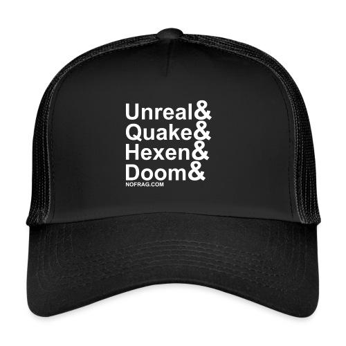 Unreal&Quake&Hexen&Doom - Trucker Cap