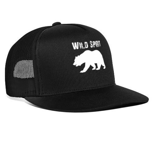 Wild Spirit - Bear - Trucker Cap