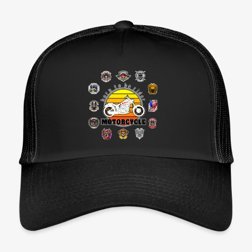 Born to be Rider - Motorcycle - Collection - Trucker Cap