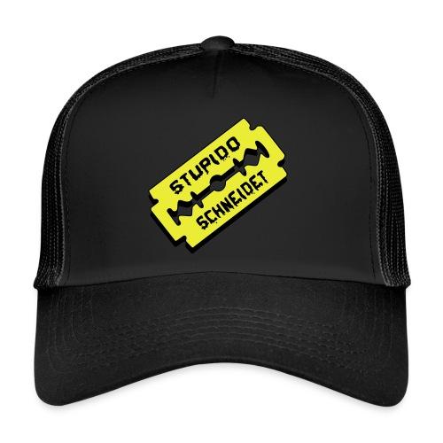 Stupido schneidet Logo - Trucker Cap