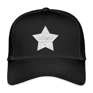 PAS Star greys bg light grey - Trucker Cap