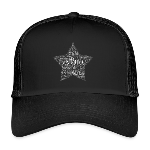 PAS Star white - Trucker Cap