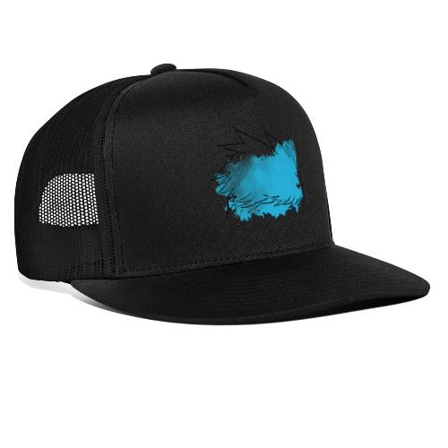 Blue Splat Original - Trucker Cap