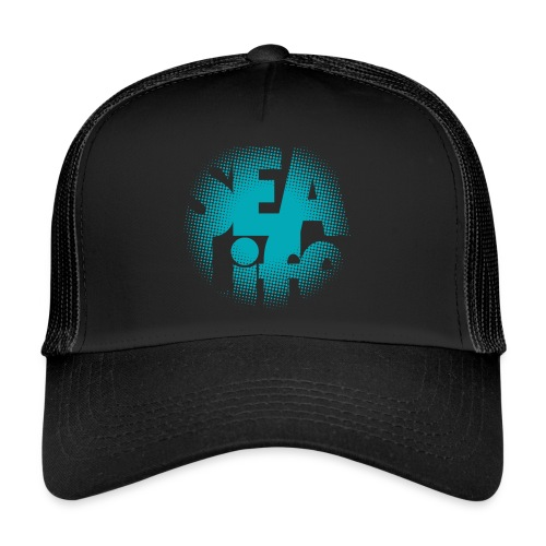 Sealife surfing tees, clothes and gifts FP24R01A - Trucker Cap