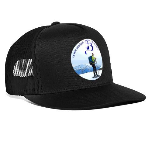 Logo cartone ciaspole - Trucker Cap