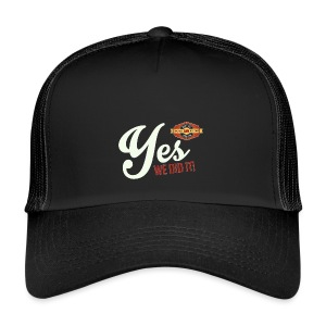 YES-we did it_white - Trucker Cap