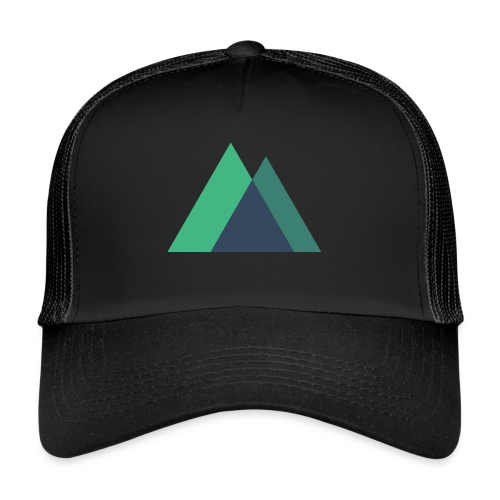 Mountain Logo - Trucker Cap