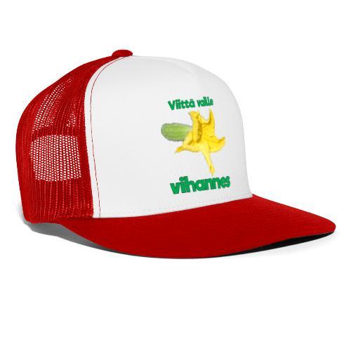 Viittä vaille vihannes, avomaankurkku - Trucker Cap