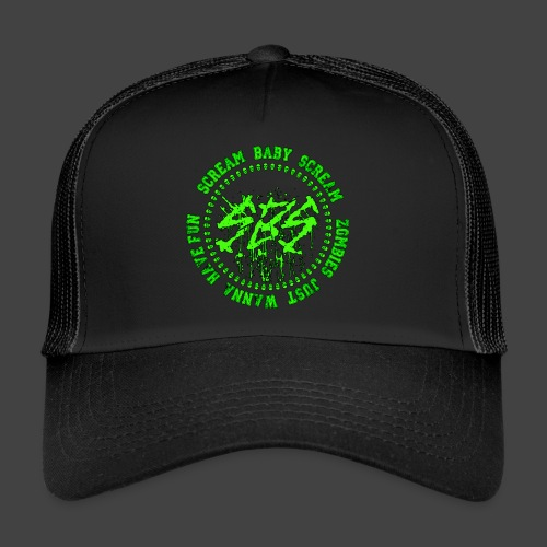 SBS Zombie Just Wanna Have Fun Varsity - Trucker Cap