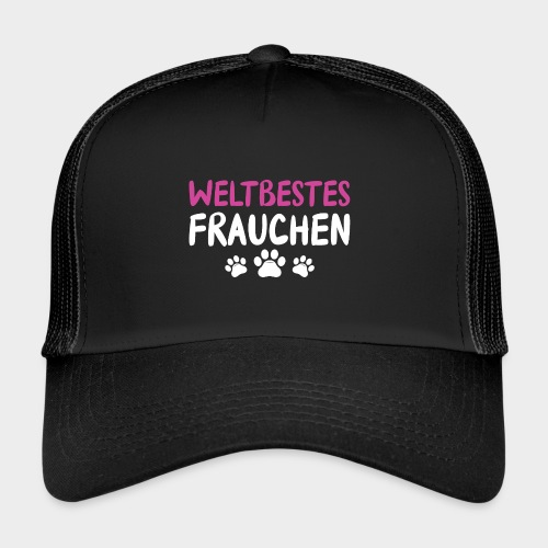 Weltbestes Frauchen Hundeliebe Hund - Trucker Cap