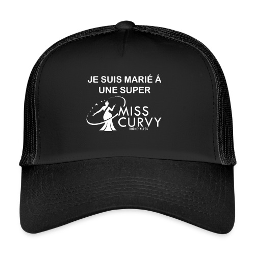 MISS CURVY Je suis marie - Trucker Cap