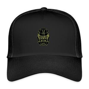 spacemask yellow - Trucker Cap