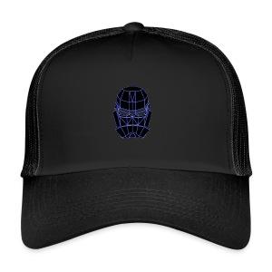 spacemask blue - Trucker Cap