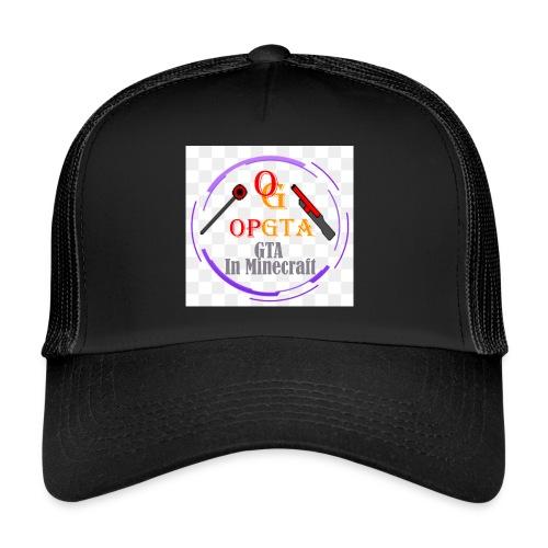 opgta logo - Trucker Cap