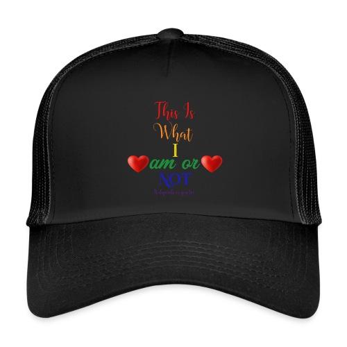 amor deux coeurs - Trucker Cap