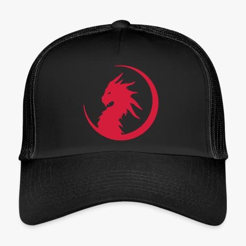 Dragon Moon Silhouette - Trucker Cap