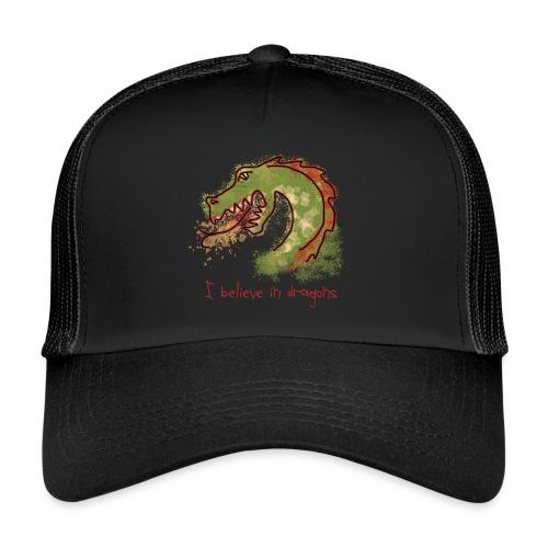 I believe in dragons - Trucker Cap