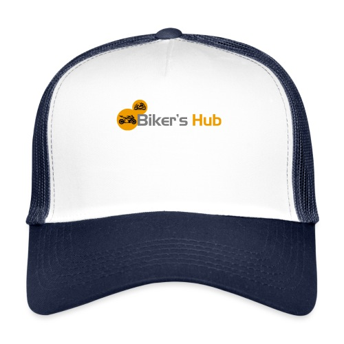 Biker's Hub Logo - Trucker Cap