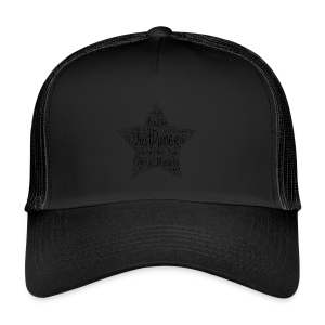 PAS Star black - Trucker Cap